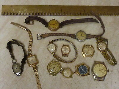 Lot Of Small Wristwatches - Spares Or Repair