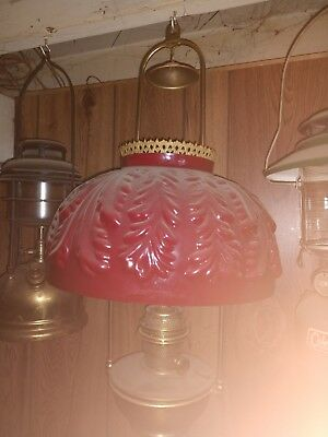 Old Aladdin hanging lamp