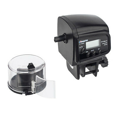 AF-2009D LCD Display Auto Fish Feeder Aquarium Tank Fish Food Auto Timer Feeding