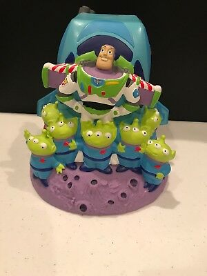 Disney Park Exclusive Pixar Buzz Lightyear / Aliens / Zurg Piggy Bank