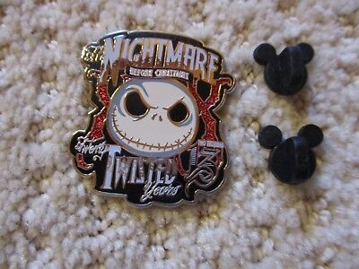 Disney Trading Pin Nightmare Before Christmas 20 Twisted Years Jack Skellington