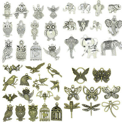 Tibetan Silver Animals Theme Charms Pendant Carfts DIY Making Jewelry Finding