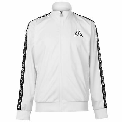 Kappa Hombres Tri Tape Jacket Mens Chándal Top