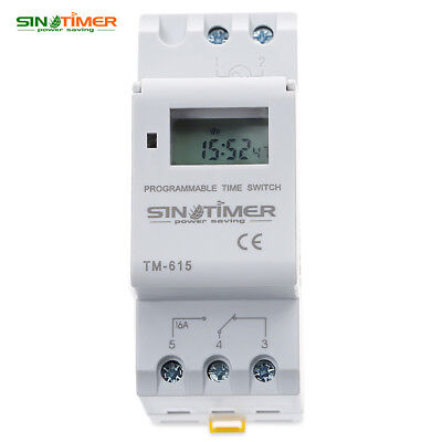 SINOTIMER 220V 16A Microcomputer Time Switch Programmable Control Power Timer