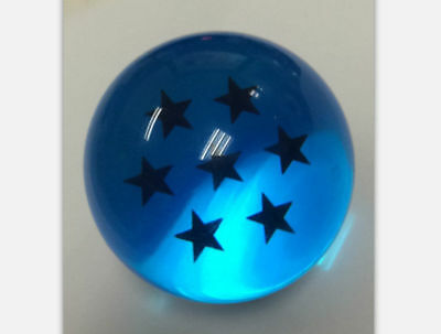 7PCS JP Anime DragonBall Z Stars Crystal Ball Blue Collection Set with Box Gift