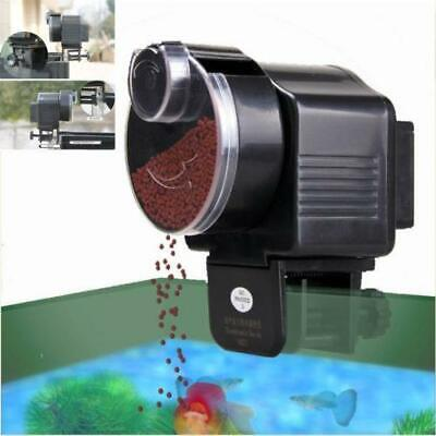 New Pet Adjustable Automatic Auto Fish Food Feeder Aquarium Feeding Summer Hot