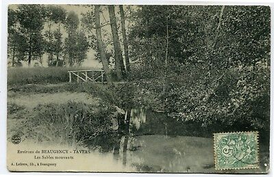 CPA - Carte Postale - France -Environ de Beaugency -Tavers - Les Sables Mouvants