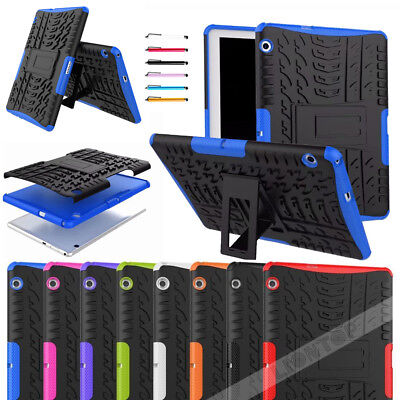 For Huawei Mediapad T3 10 Case Heavyduty Shockproof Rugged Armor Tablet Cover