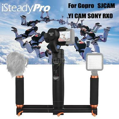 Hohem iSteady 3Axis Dual Handheld Gimbal Stabilizer For Go PRO SJCAM Yi Cam Y9S7
