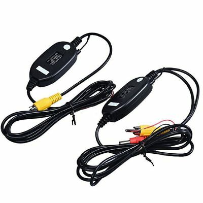 Wireless Transmitter Receiver For Car Reverse Rear View Camera Monitor J8B6