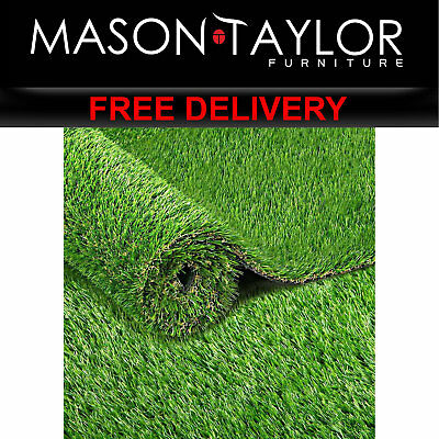 Mason Taylor Synthetic Grass 2 x 5M 40mm Thick - Natural AR-GRASS-40-205M-4C AU