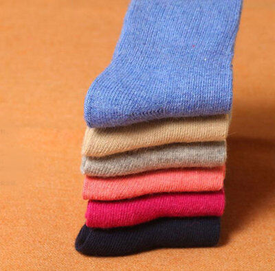 1Pair Soft Infants/Children Baby Girls Boys Relent Thick Wool Warm Solid Socks