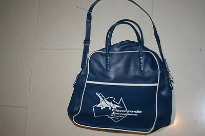 Vintage Concorde 1970S Travel Bag Airlines Airline
