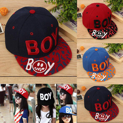 Kids Fashion Baseball Cap Unisex Boys Girls Children Baby Baseball Cap BOY