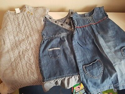 Girls 12-18 months dress bundle in excellent condition