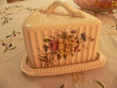 Large Rare Antique Sevres Cheese Keeper