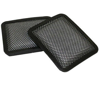 2X Washable Padded Filter For Gtech AR01 AR02 DM001 AirRam Vacuum Cleaner Black