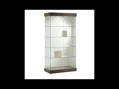Glass Display Cabinet Flat Packed