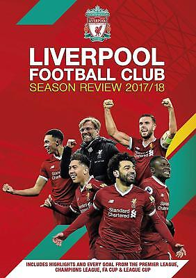 LIVERPOOL FOOTBALL CLUB Season Review 2017/2018 DVD in Inglese Nuovo