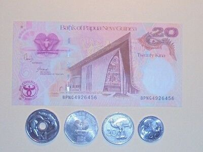 Png Banknote & Coins