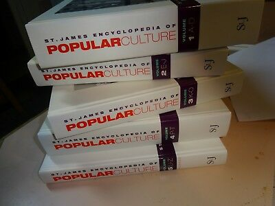 ST. JAMES ENCYCLOPEDIA OF POPULAR CULTURE.5 book set.From 2000.