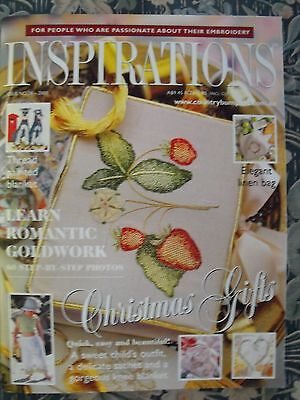 Inspirations Embroidery Magazine - Issue 28 - 2000 - As New