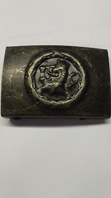 Reproduction WWII WW2 Finnish M22 Enlisted Steel Belt Buckle NEW