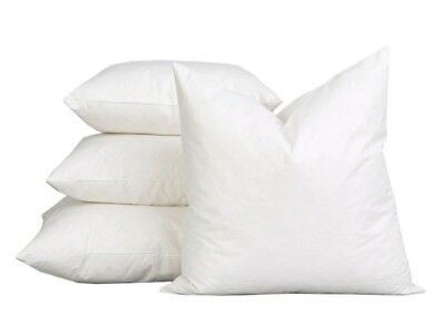 """Duck Feather Cushion Pads Inners Inserts Fillers Scatters 16"""" 18"""" 20"""" 22"""" & 24"""""""