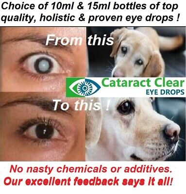 4% STRENGTH N.A.C cataract eye drops.Superb and PROVEN to work! HUGE15ml bottles