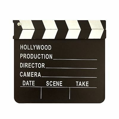 Clapper Board Hollywood Film Movie Prop Video Clapperboard