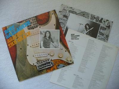 "Rory Gallagher ""against The Grain"" 1975 Guitar Rock Blues Ger Dmm Lp + Insert"