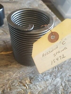 Antique Door Closer Helical Coil Flat Band spring Russwin C