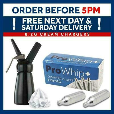 Pro Whip 8g NOS N2O NOZ Canisters Whipped Cream Chargers Add Whipping Dispensers