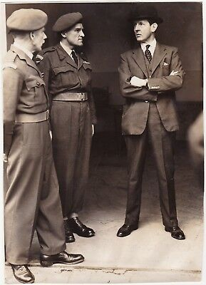 3 Post WW2 Photos Royal Air Force Related RAF Regt, Group & A.M.Sholto Douglas