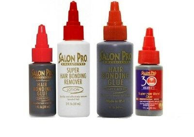 Magic/Salon Pro Anti-Fungus Hair Extension Bonding Glue/Remover Black Super Bond