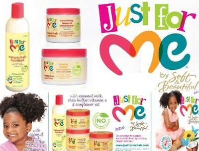 Just For Me Kids Hair Milk Products Full Range 4 75