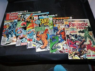 Fantastic Four Annual lot #5 #7 #9 #11 #14 and #21