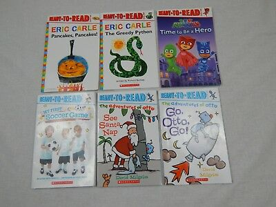 Ready To Read Lot Of 6 Children's Paperback Books Scholastic