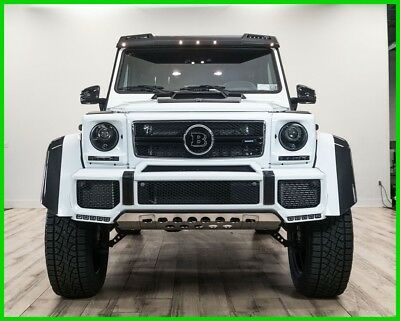 Mercedes-Benz G-Class G 550 4x4 Squared 2017 BRABUS G550 4X4 SQUARED !!  OVER $80,000 IN BRABUS UPGRADES