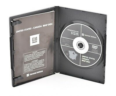 GM UNITED STATES Canada 15934919 Navigation Map Disc DVD ver. 2.00 ...