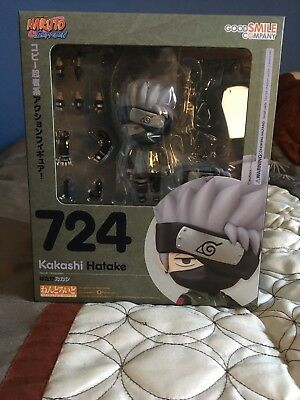 AUTHENTIC New Good Smile Naruto Shippuden Kakashi Hatake Nendoroid Action Figure