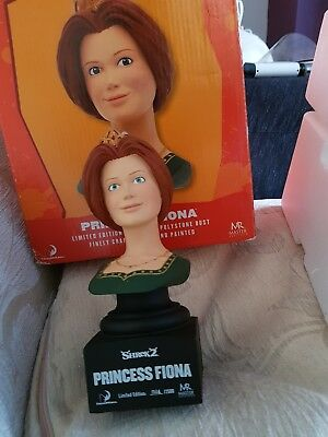 Shrek 2 princess Fiona bust rare limited edition dream works model figure toy