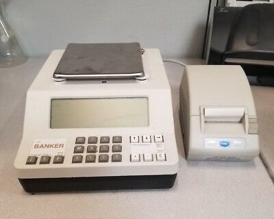 Banker K-Scale Cash Money Counter with Printer