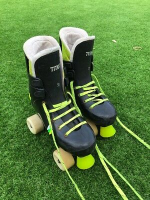 Trezeta Old School Roller Boots /skates Not Roces Or Bauers Size 4-5