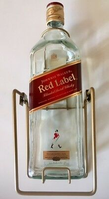 Johnnie Walker Scotch Red Label 3L with Cradle (RARE) Collectors Item
