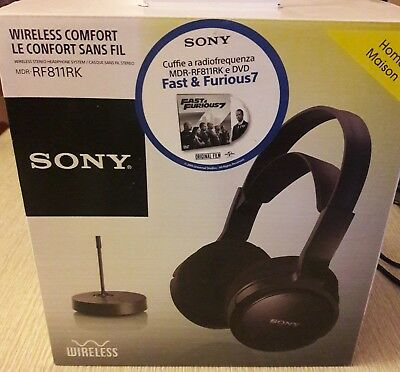 Cuffia wireless Sony MDR-RF811RK MDRRF811RK.EU8 Cuffie Wireless 4c949765268c