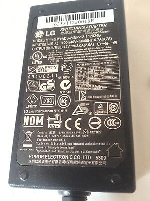 LG Switching adapter ADS-24NP-12-1 12024G, 12V 2.0A