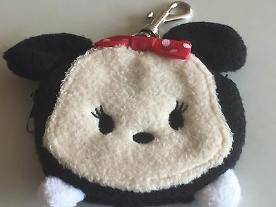 Minnie Mouse Tsum Tsum Purse Keyring * New * Disney Mickey Mouse