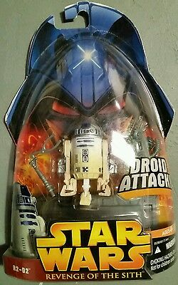 Star Wars Revenge Of The Sith R2-D2 Droid Attack Moc 2005 Lr-2