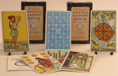 Tarot card Deck The Original Rider Waite Cards and guide book